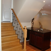 Stairs after Basement Renovations