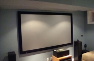 Home Theater in a Toronto Basement