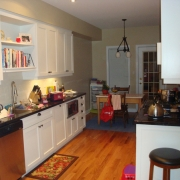 Kitchen Renovation with Kitchen Isle