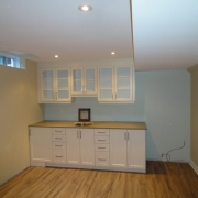 Kitchen Renovation in Basement Project
